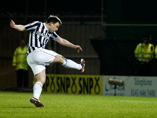 McGowan: Key man for St Mirren
