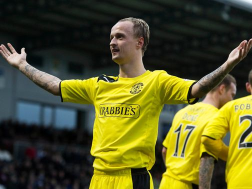 Leigh Griffiths: Can strike for Hibs