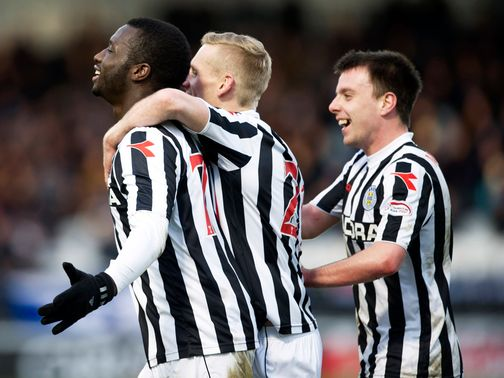 Esmael Goncalves: Scored twice in St Mirren win