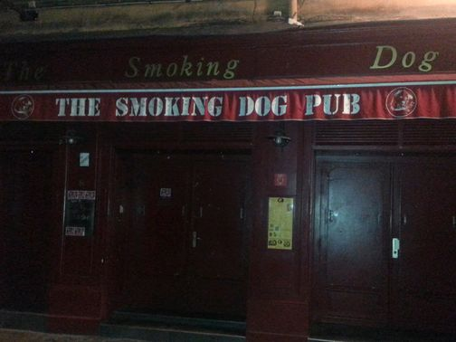 The Smoking Dog pub: Spurs fans were attacked on Wednesday
