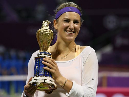 Victoria Azarenka: Victory in Doha