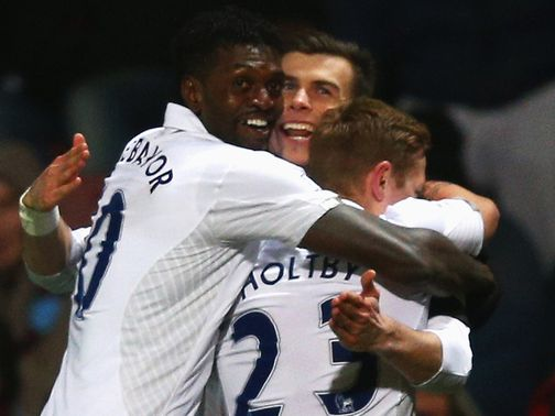 Bale's sensational late strike sent Spurs third