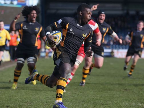 Christian Wade: Impressive performance for Wasps