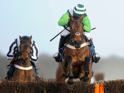 Rock On Ruby: Will wear blinkers in the Champion Hurdle
