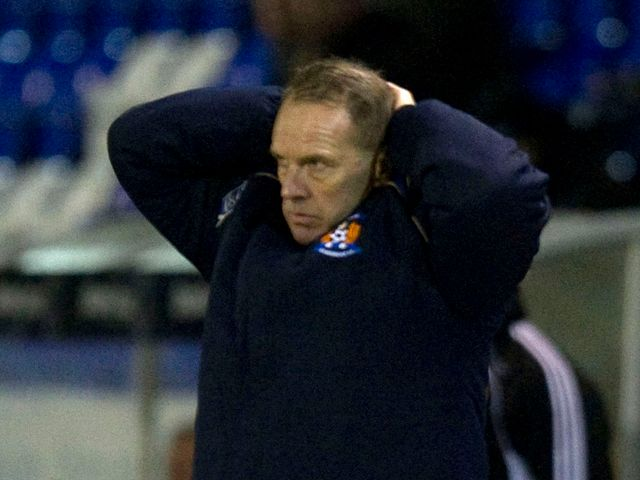 Kenny Shiels: Sent to the stands during Inverness game
