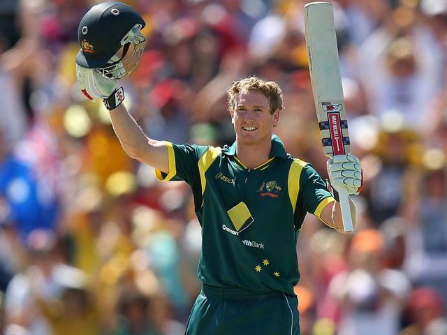 George Bailey: Century in Australian win