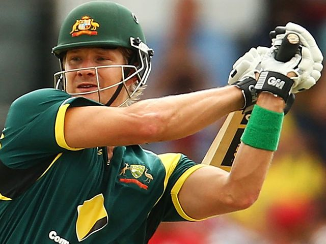 Shane Watson: Helped Australia to victory