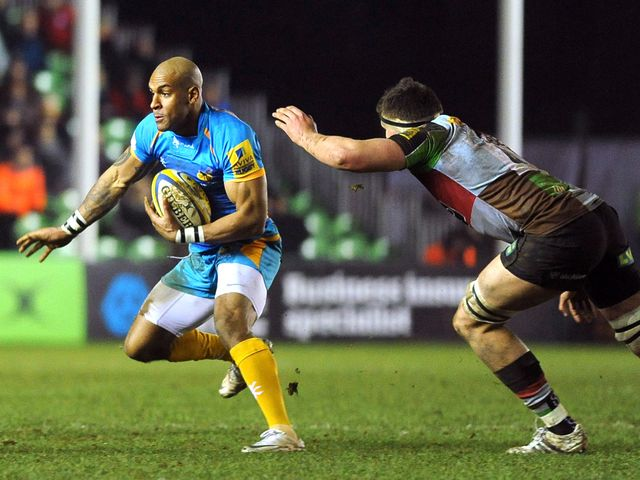Tom Varndell: Try scorer for Wasps