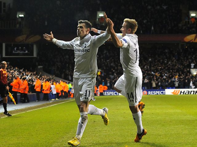 Gareth Bale scored two goals for Tottenham