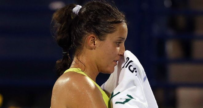 Laura Robson: On road to full fitness