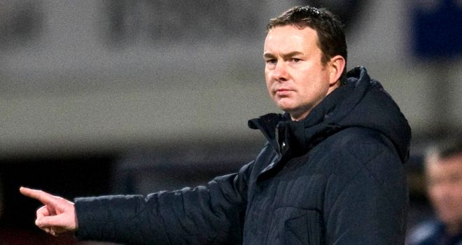 A happy night for Derek Adams on his travels with Ross County
