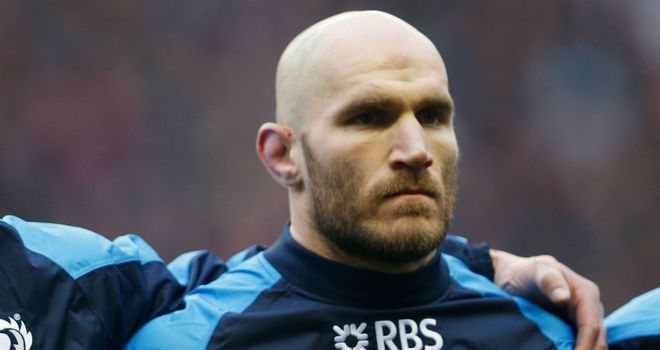 Alasdair Strokosch: May be able to return for end of RBS Six Nations