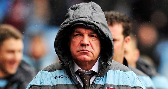 Allardyce: Says contract talks are private