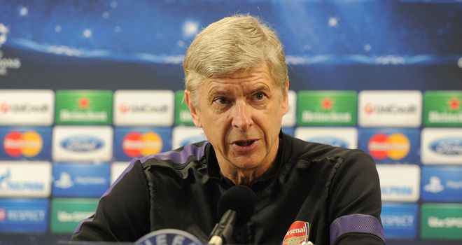 Arsene Wenger: Arsenal manager in defiant mood ahead of Bayern Munich tie