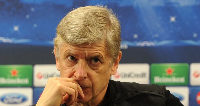 Arsene Wenger: In a splendidly grumpy mood at his presser on Monday
