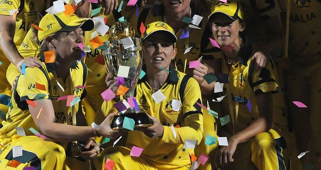 Australia have claimed the Women's World Cup once again.