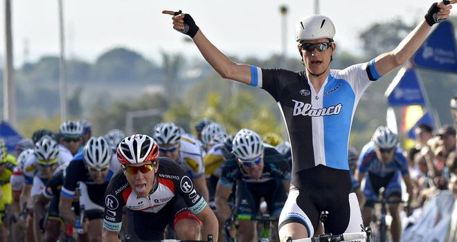 Theo Bos: Handed Blanco a second successive stage win in Portugal