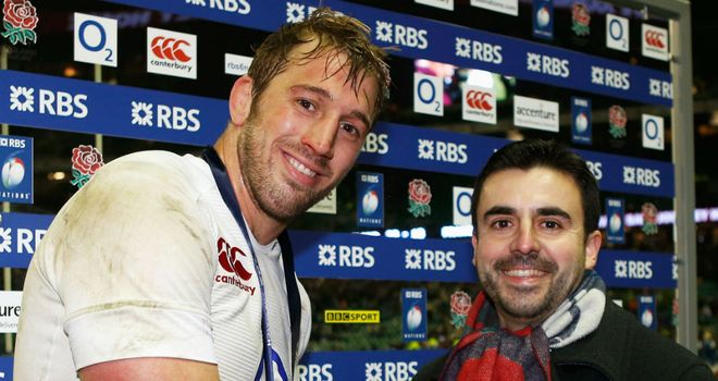 Chris Robshaw: An amazing 12 months