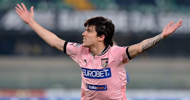 Mauro Formica celebrates his goal.
