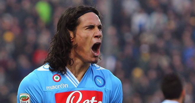 Edinson Cavani: Napoli's star striker could be a summer transfer target for Manchester City