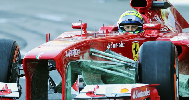 Felipe Massa: Set the fastest lap in testing on Thursday