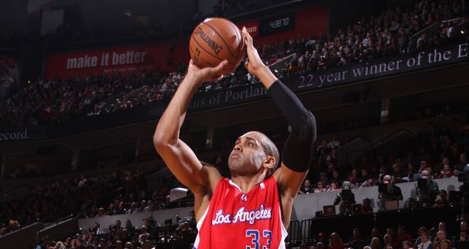 Hill: in action for LA Clippers