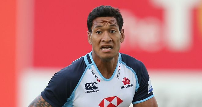 Isreal Folau: Will play grade rugby with Sydney University