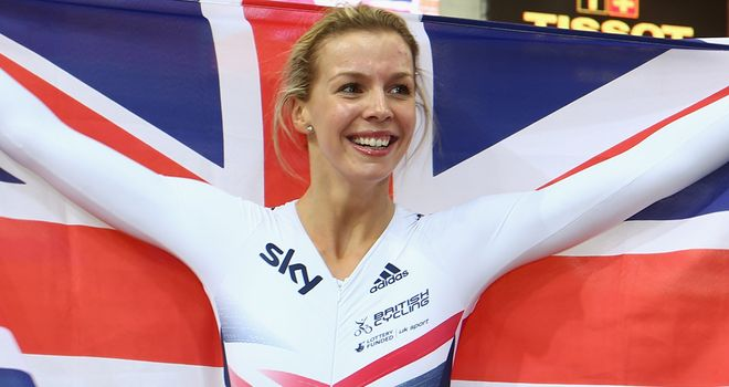 Becky James won an unprecedented four medals at the Track Cycling World Championships in Minsk