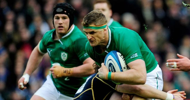 Jamie Heaslip: Defends decisions on penalties