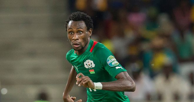 Jonathan Pitroipa: Performances for Burkina Faso have seen him linked with Everton and Fulham