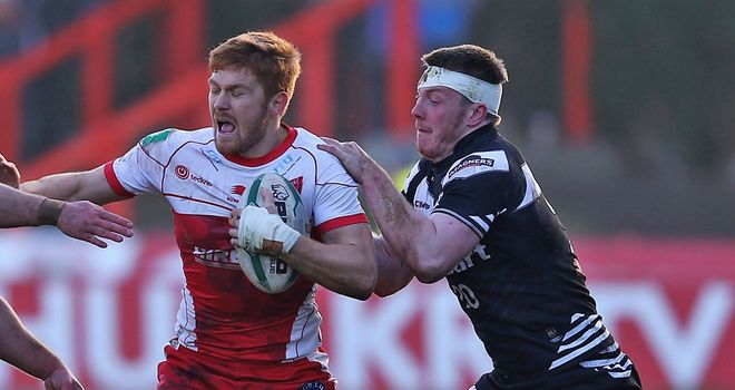 Kris Welham: Scored two first-half tries