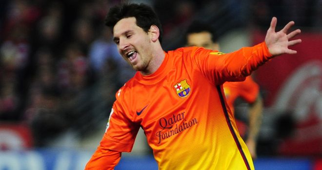 Lionel Messi: Backing Barcelona to bounce back to form