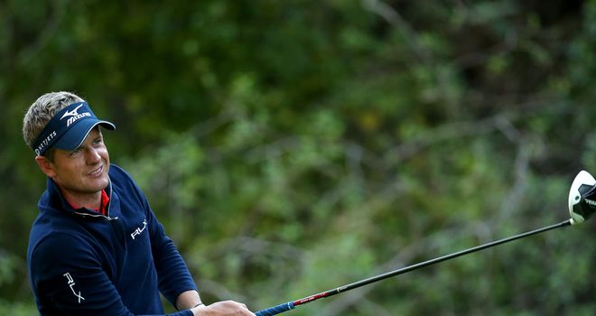 Luke Donald: Making a fine start to his year in California