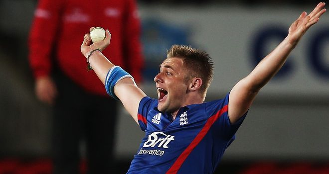 Luke Wright: Hit a sparkling 42 and claimed two vital wickets