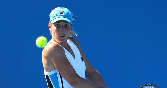 Marina Erakovic: Was a set up when Sabine Lisicki retired in Memphis