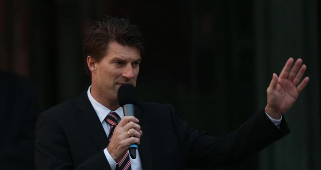 Michael Laudrup: Swansea manager addresses fans.