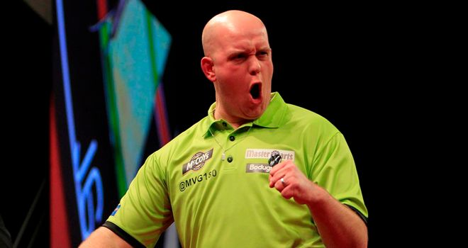Michael van Gerwen: Took care of Barney in Bournemouth