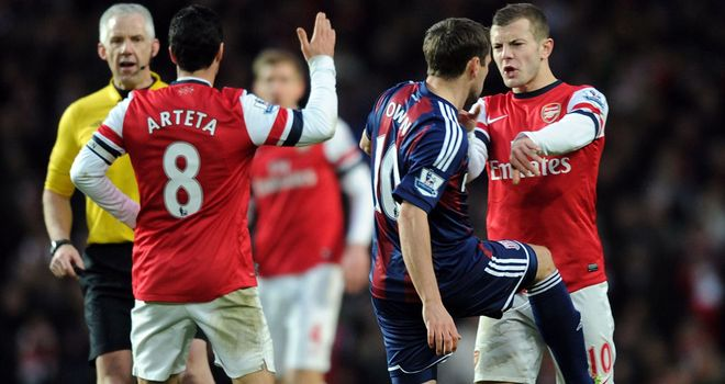 Michael Owen: Will not face any FA action over clash with Mikel Arteta
