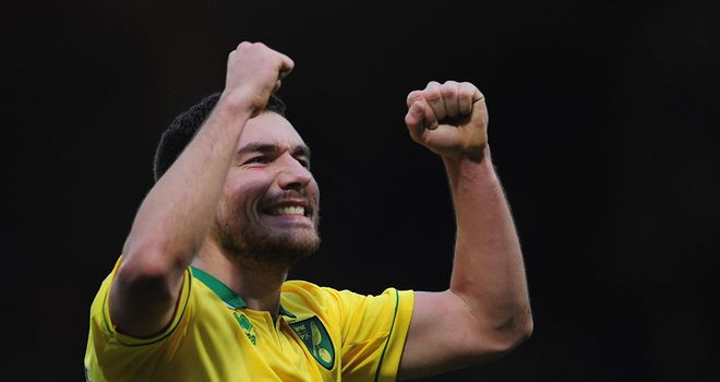 Robert Snodgrass: Norwich midfielder knows importance of staying in shape