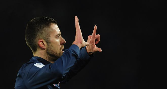 Jeremy Menez: Not amused at PSG