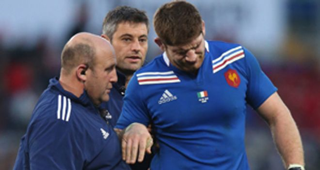 Pascal Pape: France captain ruled out of Saturday's match against Wales