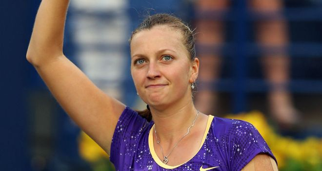 Petra Kvitova: Will face Ana Ivanovic in the second round in Dubai
