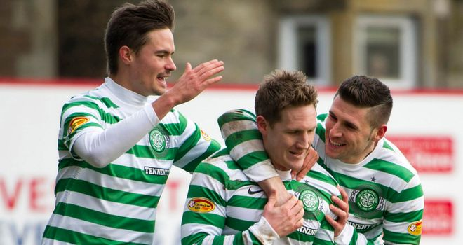 Kris Commons: Scored two goals for Celtic in 6-2 rout of Dundee United