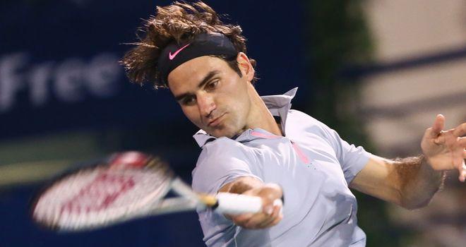 Roger Federer: Brilliant serving against Granollers