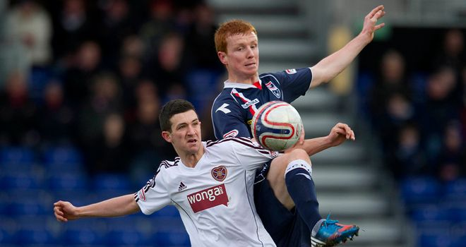 Scott Boyd: Battles with Hearts' Jason Holt