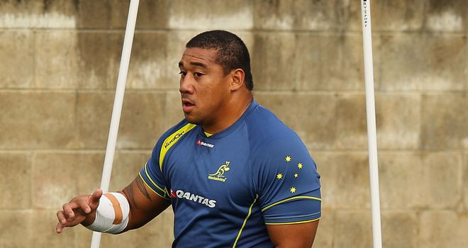 Salesi Ma'afu: Will team up with Northampton