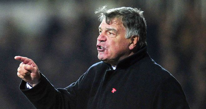 Sam Allardyce: West Ham boss wants contract talks as soon as possible
