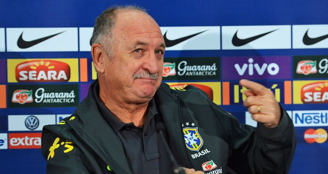 Luiz Felipe Scolari: Content with draw