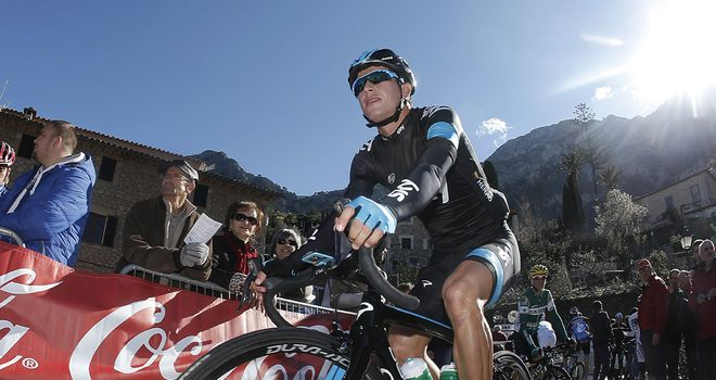 Henao: First Team Sky rider home