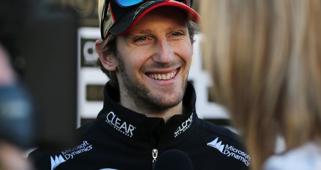 Romain Grosjean: Was called back to Spain on Saturday